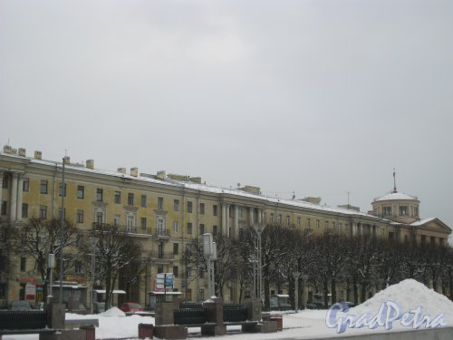 Пл. Ленина, дом 3. Вид с ул. Комсомола. Фото 27 января 2015 г.
