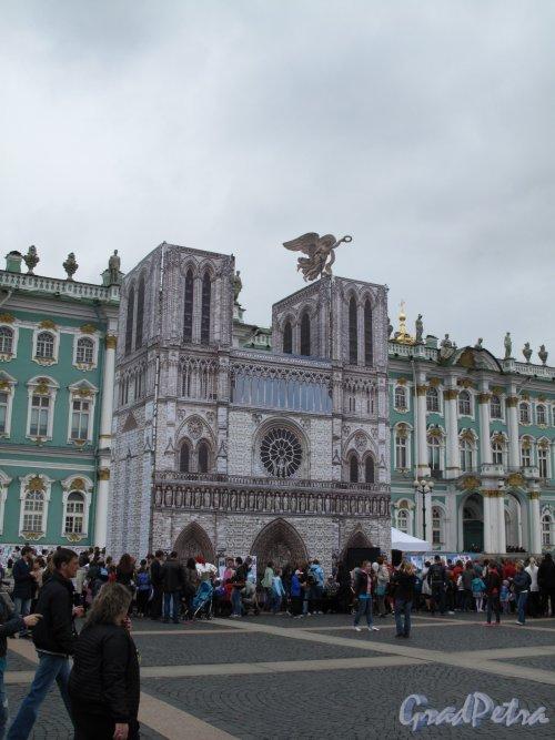 «Нотр-Дам» на Дворцовой пл. фестиваль «В гостях у Ангела» фото 1 июня 2014 г.