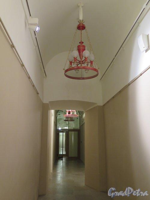 Дворцовая пл., д. 6-8. Восточное крыло здания Главного штаба. Внутренние коридоры. фото январь 2015 г.
