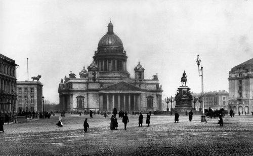 «Исаакиевская площадь. 1913 год»