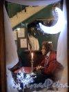 Невский пр., д. 18. «Литературное кафе». Мемориальная витрина. Фото январь 2012 г.