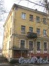 г. Красное Село, пр. Ленина, дом 95. Левая часть фасада. Фото 24 февраля 2014 г.