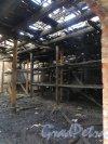Лермонтовский пр., дом 57-59, лит. Б. Последствия майского пожара 2013 года. Фото 12 марта 2014 года.