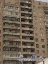 Ленинский проспект, дом 121, литера А. Надпись на балконах «Женя, я тебя люблю». Фото 17 марта 2014 года.