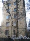 Пр. Народного Ополчения, дом 111. Общий вид торца здания. Фото 26 февраля 2014 г.