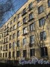 Пр. Народного Ополчения, дом 111. Общий вид со стороны фасада. Фото 26 февраля 2014 г.