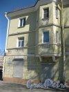 г. Красное Село, пр. Ленина, дом 92, корпус 1. Фрагмент фасада здания. Фото 23 апреля 2014 г.