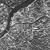 Левашовский проспект, дом 11 / Барочная улица, дом 7. Вырезка с кадра немецкой аэроФотосъемки. 1940 год