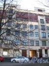 Большой пр., В.О., д. 50. Доходный дом Н. П. Демидова. Общий вид. Фото апрель 2014 г.