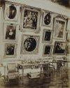 Дворец Строгановых на Невском проспекте. Картинная галерея. Фото конца XIX века.