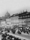 Здание Петербургской конторы Московского купеческого банка. Фото конца XIX века.