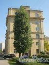 Новочеркасский пр., дом 37, корпус 1. Торец жилого дома. Фото 18 сентября 2014 г.