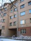 Бол. Сампсониевский пр., дом 98. Фрагмент фасада здания. Фото 9 февраля 2015 года.