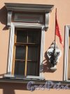 Пр. Римского-Корсакова, д. 5. Отель «Амбасадор». Флагодержатель. Фото июнь 2014 г.