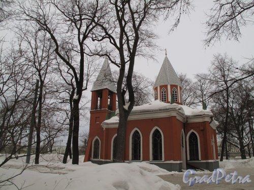 Каменноостровский пр., д. 83. Церковь Рождества Иоанна Предтечи. Фото март 2011 г.