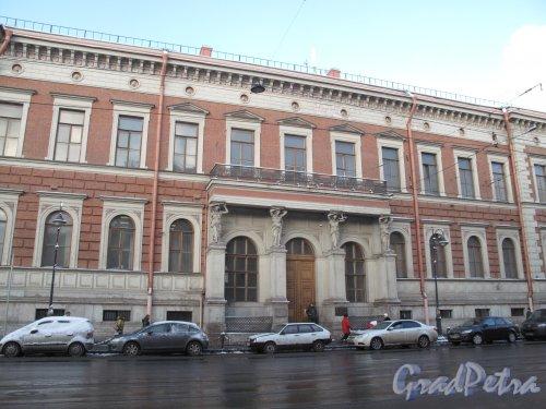 Литейный пр., д. 39. Здание департамента уделов. Общий вид. Фото март 2014 г.
