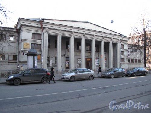 Чкаловский проспект, д. 12. «Чкаловские» (бывшие «Разночинные» или «Геслеровские») бани. Фото март 2014 г.