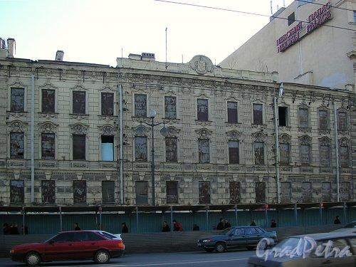 Невский пр., д. 59. Фасад здания. Фото март 2005 г.