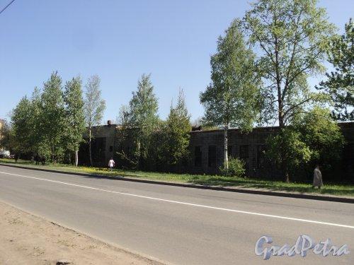проспект Энергетиков, дом 9, литера П. Корпус со стороны проспекта Энергетиков. Фото 21 мая 2011 года.