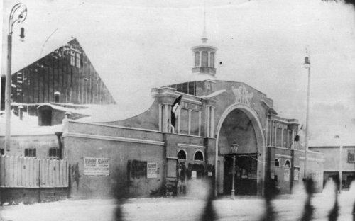 Кронверкский пр., дом 9. Вид кинематографа «Колизей». Фото начала XX века.