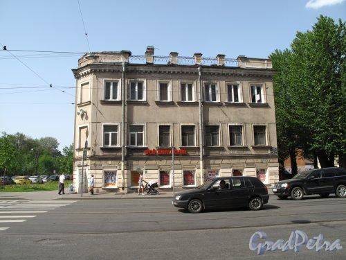 Средний пр. В.О., д. 75. Вид на фасад по Среднему пр. В.О. Фото май 2014 г.