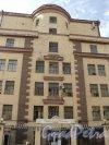 Чкаловский пр., дом 50. Фасад со стороны Чкаловского проспекта. Фото 25 апреля 2011 года.