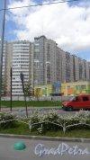 Дунайский проспект, дом 5, корпус 6. 17-этажный кирпично-монолитный дом-вставка 2007 года постройки. 1 парадная, 64 квартиры.