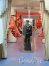 Кондратьевский пр., д. 83, корп. 1. Музей подводных сил России им. А.И. Маринеско на 1-м этаже. Интерьер Экспозиции Музея. фото июль 2015 г.