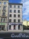 Большой пр., П.С., д. 12. Жилой дом. Боковой фасад по Большому пр. фото август 2015 г.