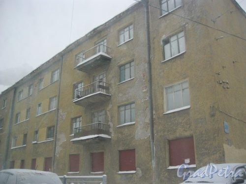 Кондратьевский пр., дом 40, корпус 5. Общий вид с ул. Жукова. Фото 15 января 2016 г.