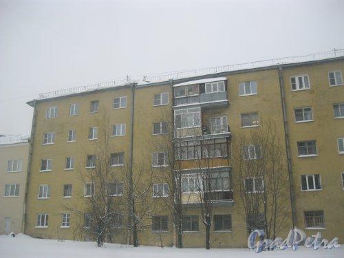 Кондратьевский пр., дом 40, корпус 6. Общий вид с ул. Жукова. Фото 15 января 2016 г.