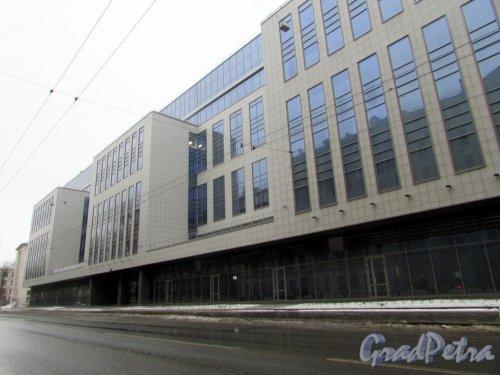 Большой Сампсониевский проспект, дом 28, корп. 2, лит. Д. Общий вид бизнес-центра «MEZON PLAZA». Фото 7 февраля 2016 года.
