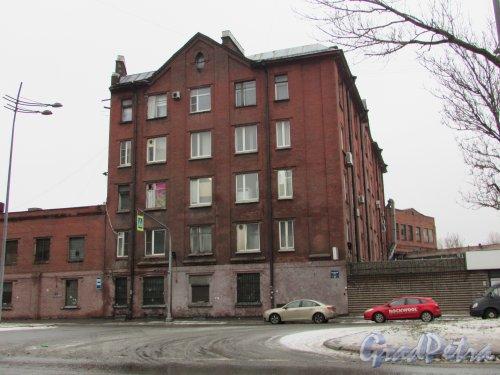 Лиговский проспект, дом 283. Общий вид здания торгового дома «А. М. Жуков». Фото 7 февраля 2016 года.
