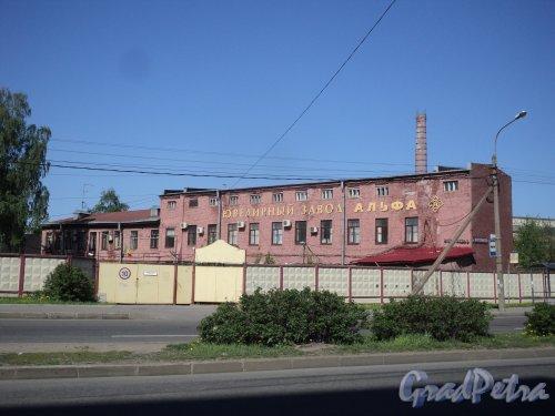 Проспект Энергетиков, дом 6. Общий вид территории ювелирного завода «Альфа». Фото 21 мая 2011 года.