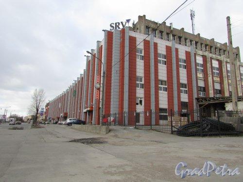 проспект Шаумяна, дом 4. Общий вид фасада бизнес центра SRV со стороны проспекта Шаумяна. Фото 20 марта 2016 года.