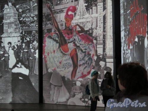 Большой пр., В.О., д. 103. Комплекс «ЛенЭкспо». Мультимедийная выставка «От Моне до Сезанна. Французские импрессионисты». Фоли Бержер. фото январь 2015 г.
