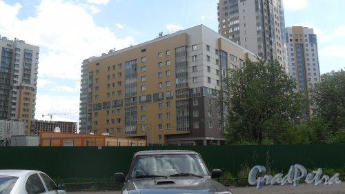 Дунайский проспект , дом 7, корпус 7, литер А. Секция с квартирами 1-510. Вид секции от офиса отдела продаж ЖК