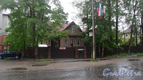 Всеволожск, Октябрьский проспект, дом 100. Фото 12 июня 2016 года.