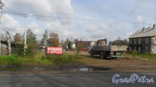Всеволожск, Октябрьский проспект, дом 35. Продажа участка 8-999-206-75-50. Фото 12 сентября 2016 года.