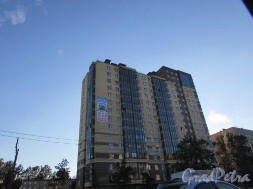 Дачный проспект, дом 21, корпус 1. Жилой комплекс «Александрит». Фото 24 августа 2016 года.