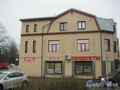 г. Зеленогорск, пр. Ленина, дом 23. Общий вид здания. Фото 21 ноября 2016 г.