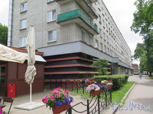 25 Октября пр. (Гатчина), д. 37. Многоквартирный жилой дом, 1980-е гг. фото июнь 2015 г.