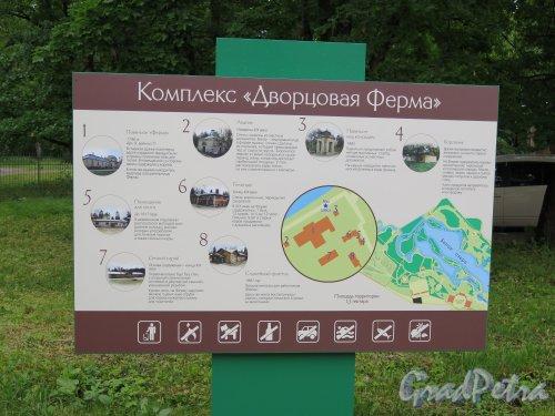 Красноармейский пр. (Гатчина), д. 1. Дворцовая Ферма. План комплекса. фото июль 2015 г.