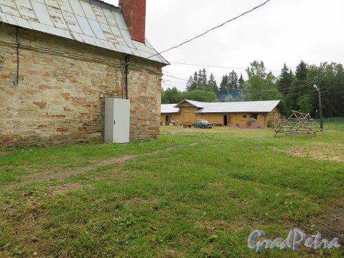 Красноармейский пр. (Гатчина), д. 1. Дворцовая Ферма. Часть внутренего двора. фото июль 2015