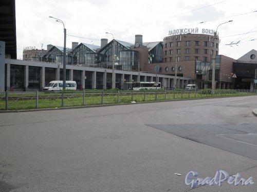Заневский пр., д. 73. Ладожский вокзал. Общий вид. фото июль 2015 г.