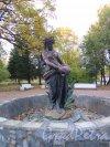 Академический пр. (Пушкин), д. 1, лит. А. Фонтан «Флора», 2-я пол. 19 в. Общий вид. фото октябрь 2015 г.