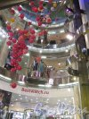 Невский пр., д. 71. Торговый комплекс «Невский атриум», 2005-06. Галереи Центрального ядра. фото ноябрь 2015 г.