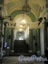 Невский пр., д. 39. Аничков дворец. Оформление парадной лестницы. фото март 2018 г.