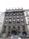 Большой проспект П.С., дом 77, литера А. Общий вид фасада дома Розенштейна. Фото 3 марта 2020 г.