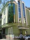 Лиговский проспект, дом 112, литера А. Лабораторный корпус НТФФ «ПОЛИСАН», 1992. Угловая часть. фото май 2018 г